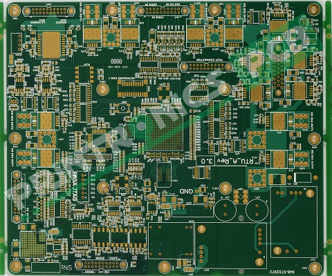 Double Sided Pcb with PTH